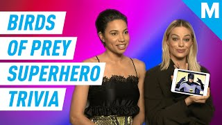 Margot Robbie and Jurnee Smollett Play Superhero Trivia | Know Your Role