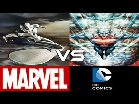Silver Surfer VS Captain Atom (CBVS#25)