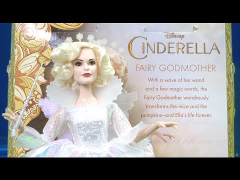 Disney Cinderella Fairy Godmother Doll from Mattel