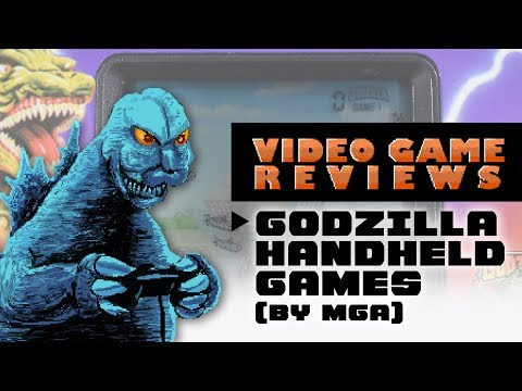 Godzilla Handheld Games - MIB Video Game Reviews Ep 12