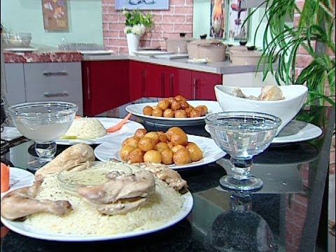 طريقه عمل شاكريه الدجاج وجلوب جامون من الشيف محمد فوزى حلقه مطبخ الراعي