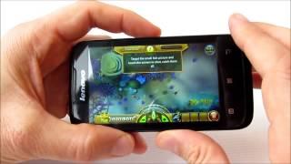 Lenovo A369i - дешевый Dual SIM смартфон - видео обзор