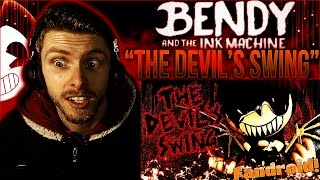"Vapor Reacts #338 | [SFM] BENDY AND THE INK MACHINE SONG ""The Devil's Swing"" by Fandroid REACTION!!"