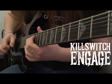 Killswitch Engage - Hate By Design Guitar cover w/solo + TAB (New song 2016 !)