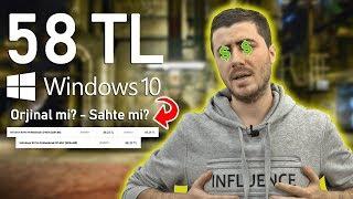 İnternette 58 TL'ye Satılan OEM Windows 10 Kodları Alınır mı? (Test ETTİK)