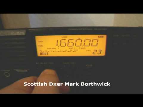 MW DX  The Avenue 1660khz Naples Florida Received In Scotland On Icom IC-R75 and EWE Antenna