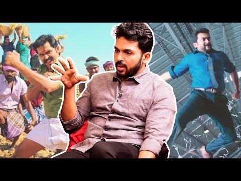 Surya's Singam Stunt Copy Ah? - Karthi Clarifies | Kadaikutty Singam