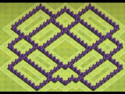 Clash of Clans - Best TH7 Farming Base Layout