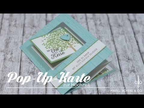 Pop-Up-Karte zur Hochzeit   Besondere Kartenformen   Tutorial   Stampin' Up!