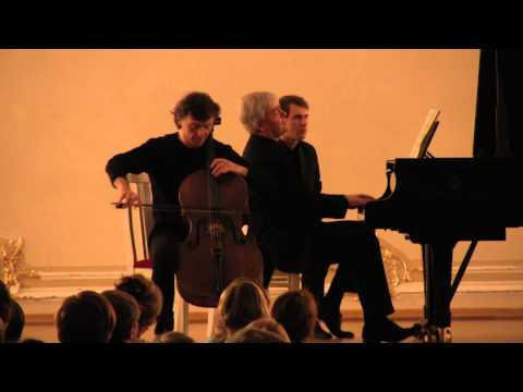 Бетховен, Людвиг ван - Соната для виолончели и фортепиано №1 фа мажор