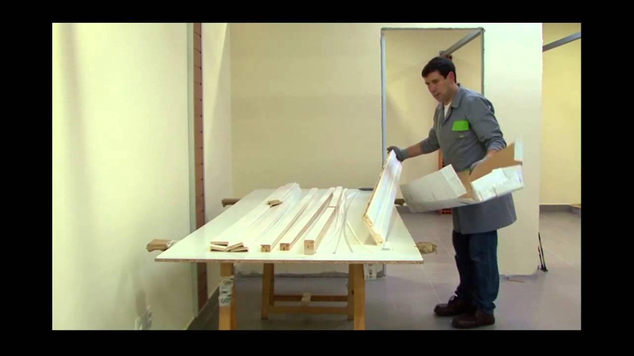 Openspace porte coulissante et habillage en bois youtube - Porte coulissante en bois et verre ...
