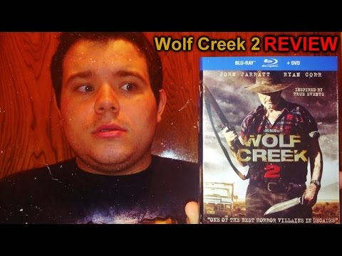 Wolf Creek 2 - Blu-ray/DVD REVIEW & UNBOXING - (2014) Horror/Sequel