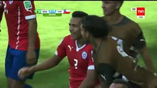 Brasil 1 Chile 1 (Brasil 2014)