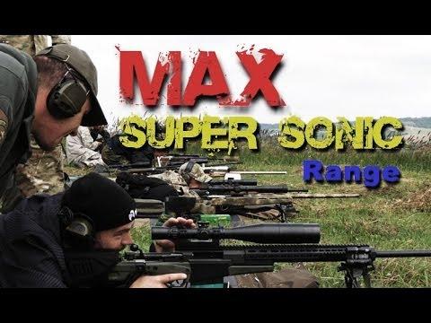 SNIPER 101 Part 75 - The TRANSONIC ZONE & Maximum Effective Range