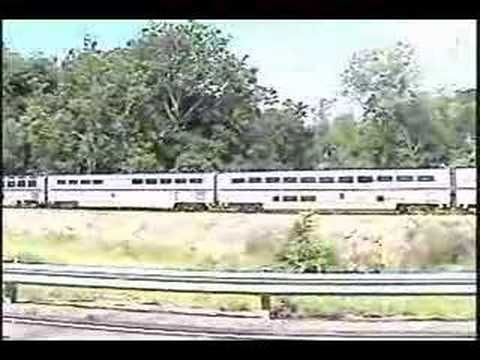 421 Texas Eagle. This short video is one I took of the northbound Amtrak Texas Eagle as it was speeding through Cliff Cave County Park in far south St. Louis,