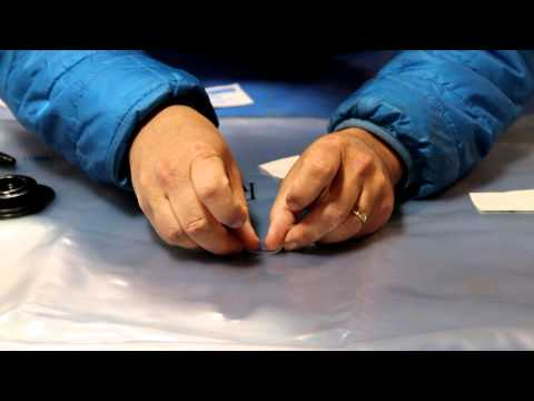 Tear-Aid Patch - Field Repair on an Outcast or Fish Cat Boat