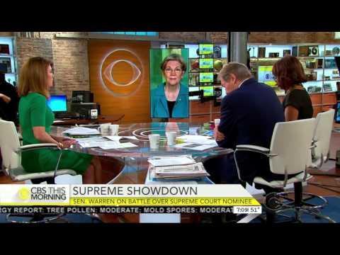 Elizabeth Warren Won't Answer Any Questions in CBS Interview