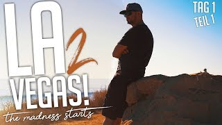JP Performance - Los Angeles to Vegas! | the Madness starts | Tag 1 | Teil 1