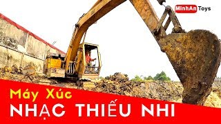 Excavator Videos for Children | The Best Songs for Children in VietNam