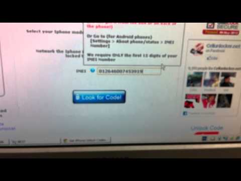 How to unlock Iphone 4 T-mobile UK