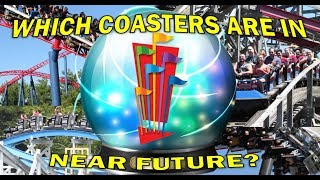 Which Coasters are in Six Flags' Near Future?