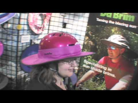 DaBrim Helmet Shade Product News Report at Outdoor Retailer With Billy Carmen