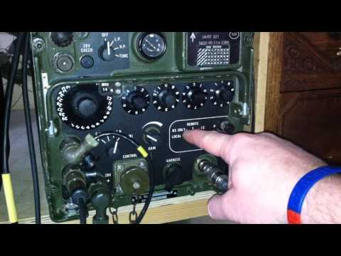The Clansman VRC-321 Military Radio run through [HD] - M0VST