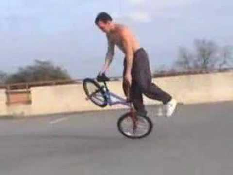 David Weathersby BMX tricks