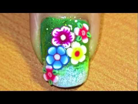 flower power- nail art tutorial