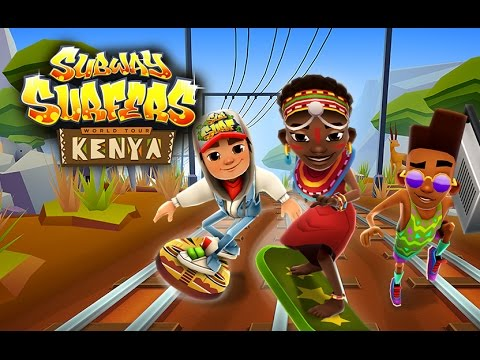 🇰🇪 Subway Surfers World Tour 2015 - Kenya (Official Trailer)