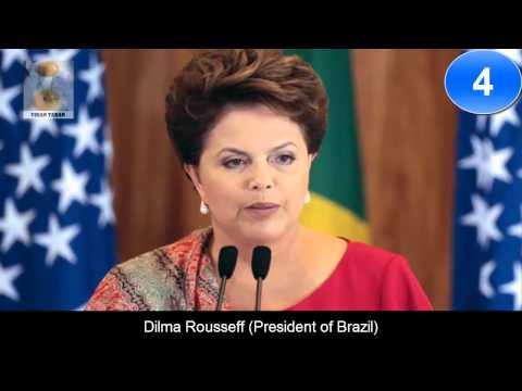 10 Most Powerful Women In The World 2015