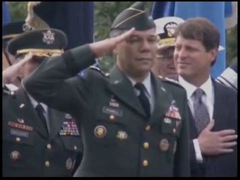 General Colin Powell Retirement Ceremony Full Version Youtube