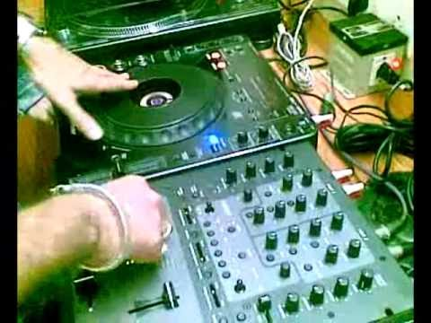 DJ SUKETU MIXING AND SCRATCHING IN AUDIO ELITE STUDIO