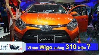 Vì sao giá Toyota Wigo lao dốc xuống 300 triệu đồng?