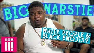 Should White People Use Black Emojis? | Big Narstie