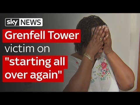 Grenfell Tower victim on starting all over again