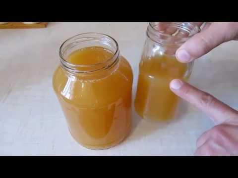 Фото рецепта яблочного уксуса