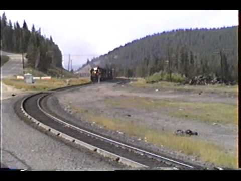 D&RGW Entering The West Portal Of Moffat Tunnel