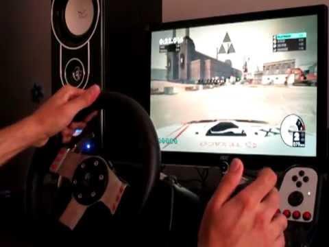 DIRT 3 Drifting With Logitech G27 Gameplay