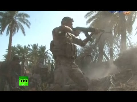 ISIS v Iraqi Army: Baghdad releases fierce fighting footage