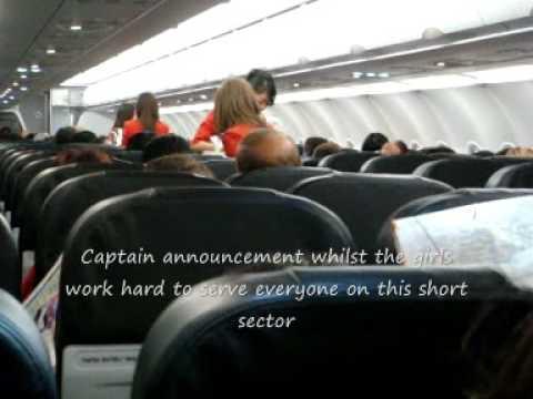 Thai Air Asia Flight from Bangkok to Chiang Mai Airbus A320