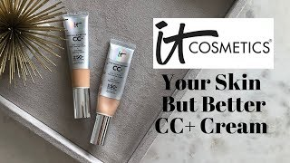 REVIEW | IT COSMETICS YOUR SKIN BUT BETTER CC+ CREAM | My Beauty Fair