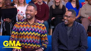 Will Smith and Martin Lawrence reunite for 'Bad Boys for Life' l GMA