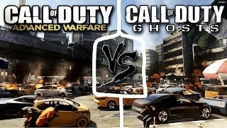 Call of Duty Advanced Warfare Vs Call of Duty Ghosts By TGamingK