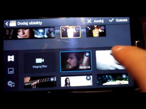 Samsung Aplikacja VIDEO EDITOR Do Edycji Filmów W Telefonie Przycinanie Obróbka Napisy