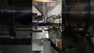 Kuşburnu çekirdeği yağı GM-5000 model makinamız çıkartıyor rosehip seed oil