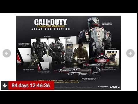 advanced warfare atlas pro edition gamestop