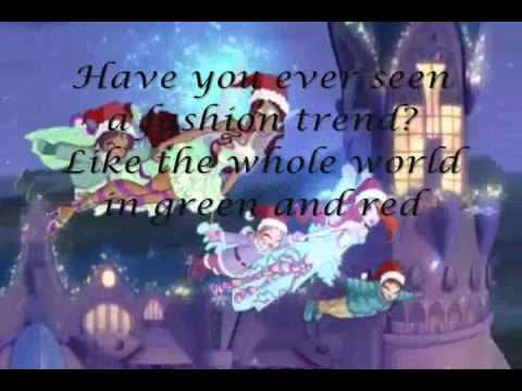 Winx Club Season 5 Christmas Magic Song Video with Lyrics in English