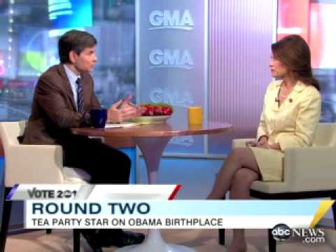 Michele Bachmann gets OWNED on Birther Issue