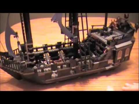 Lego 4184 Pirates of the Caribbean - The Black Pearl Review